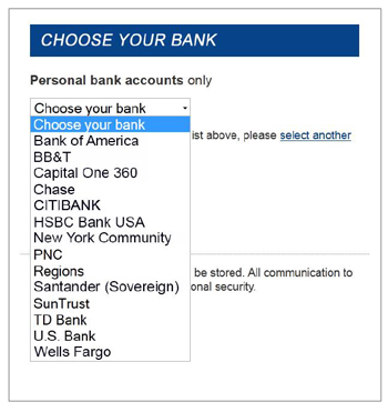 mazooma Online Banking Transfers | Transaction Flow