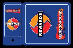 Music Go Round Loyalty/Rewards Keytag Card