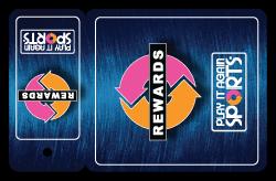 Play It Again Loyalty/Rewards Keytag Card
